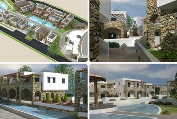 Σε πλήρη ανάπτυξη το εργοτάξιο του πεντάστερου ξενοδοχείου στον Μύτικα