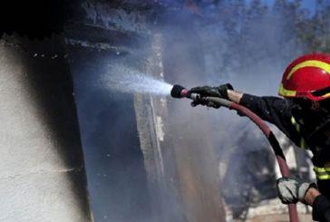 Ζημιές σε κατοικία των Γιαννόπουλων από φωτιά