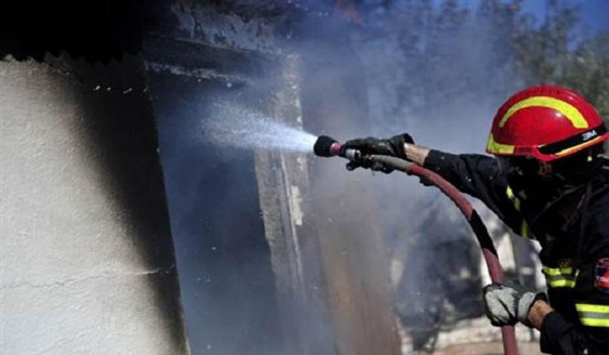 Φωτιά στην Αχαΐα: Ναυπάκτιος πυροσβέστης τα «έδωσε όλα» και μεταφέρθηκε στο νοσοκομείο