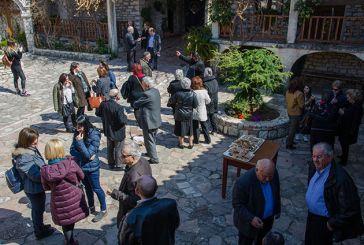 Θέρμο: Οι Σαρακατσάνοι τιμούν τον Άγιο τους με επίσκεψη στη γενέτειρα του