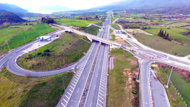 Ιόνια Οδός: Κυκλοφοριακές ρυθμίσεις στον Κόμβο Κουβαρά