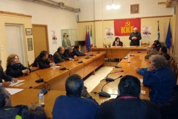 Η πολιτική εκδήλωση του ΚΚΕ στη Βόνιτσα