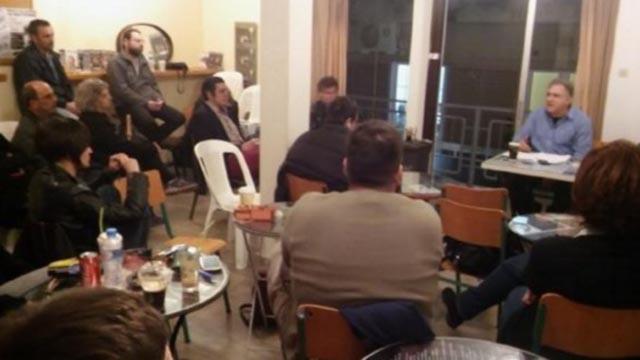 Αγρίνιο: Εκδήλωση για τις πολιτικές εξελίξεις από την ΑΝΤΑΡΣΥΑ