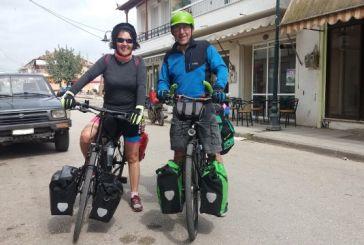 Ποδηλατικός τουρισμός μέσω… Καλυβίων!