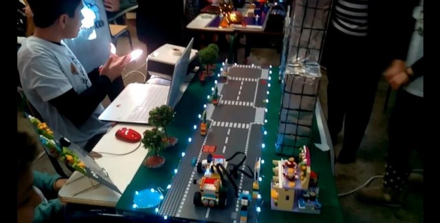 Την 3η θέση πήρε το Δημοτικό Αστακού στο διαγωνισμό εκπαιδευτικής ρομποτικής