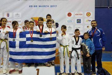 """Σάρωσε ο """"Τίτορμος"""" στο Διεθνές Πρωτάθλημα Ταεκβοντό στα Τίρανα"""