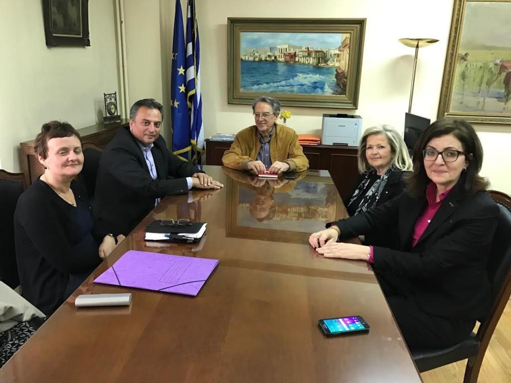 Ο Αντώνογλου ενημερώθηκε για τα ζητήματα του δήμου Αγρινίου