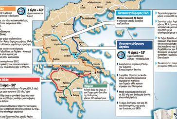 Οι μεγάλοι αυτοκινητόδρομοι που αλλάζουν την Ελλάδα