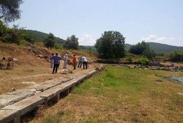 Eνημέρωση από την Ιστορική- Αρχαιολογική Εταιρεία για την ανασκαφή στο Θέρμο