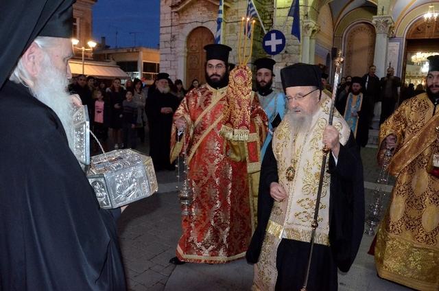 Χειροτονία και υποδοχή Ιερού Λειψάνου στην Μητρόπολη Αιτωλίας και Ακαρνανίας