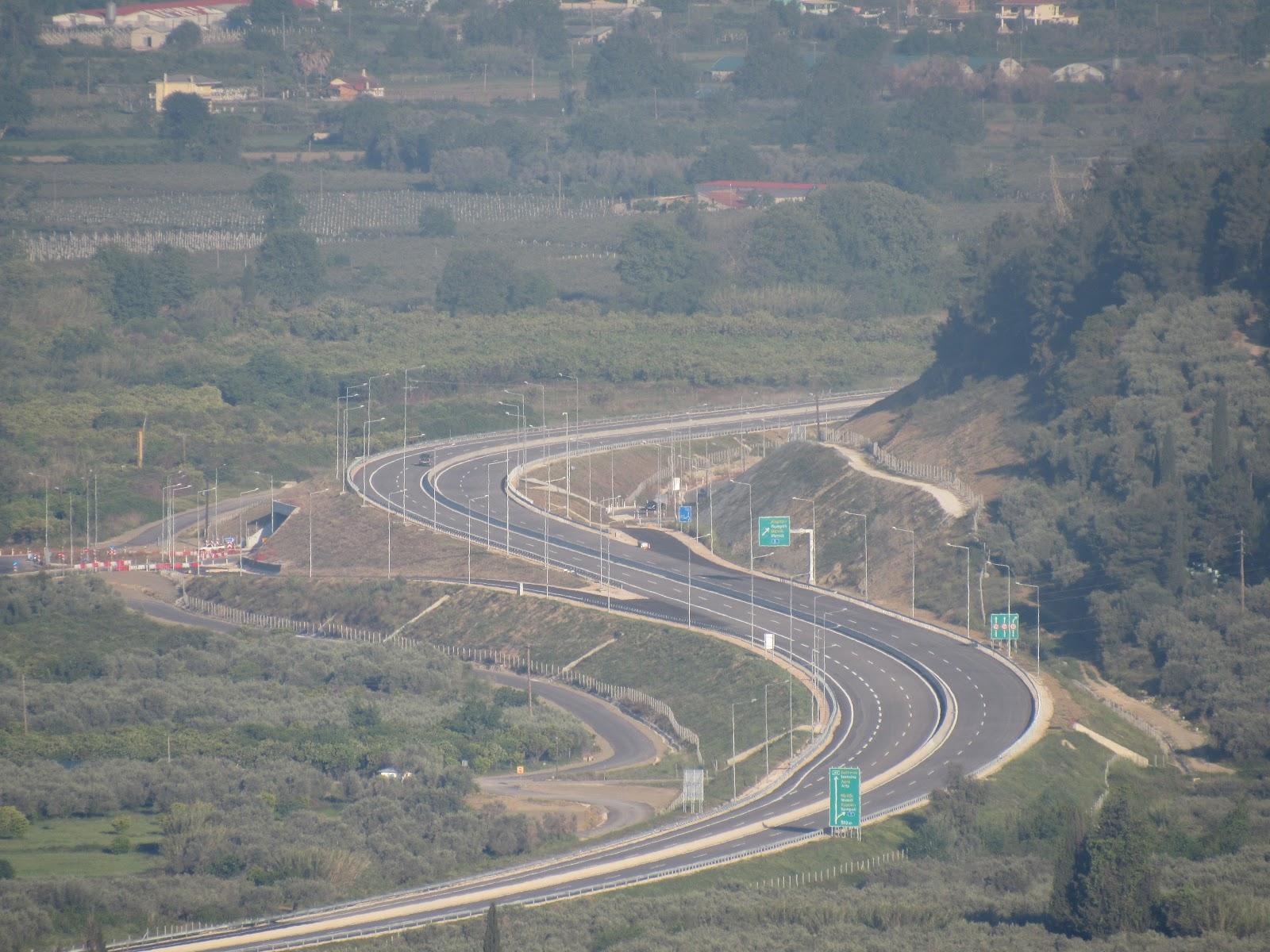 Ιόνια Οδός: Eντατικά τα έργα στο τμήμα Συκούλα – γέφυρα Μενιδίου – Ελαιοχώρι (βίντεο)
