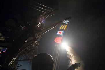 Οι ΗΠΑ βομβάρδισαν με 59 πυραύλους τη Συρία