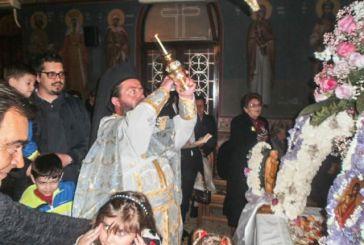 Κατάνυξη στην Ι.Μ. Αγίου Γεωργίου Αστακού (φωτο)