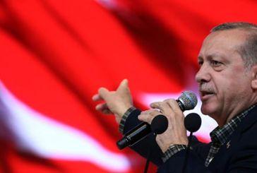 Ερντογάν: Απειλές πολέμου και δοκιμές πυραύλων μεγάλου βεληνεκούς