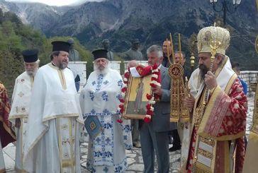 Εορτασμός Νεομάρτυρα Μιχαήλ στη Γρανίτσα Ευρυτανίας (φωτο)