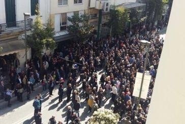 Πορεία των οπαδών του Αρτέμη Σώρρα στην Πάτρα – Αναβλήθηκε η εκδίκαση της αίτησης αναστολής