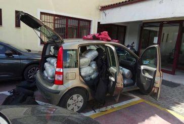 Νοίκιασε όχημα και μετέφερε 120 κιλά χασίς-Έφθασε μέχρι το Κομπότι…