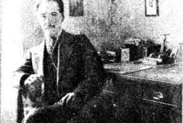 Σπάνια φωτογραφία του Αγρινιώτη Λογοτέχνη Κωνσταντίνου Χατζόπουλου