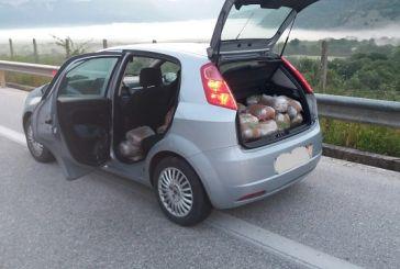Θεσπρωτία: μπλόκο σε 30χρονο με 75 κιλά χασίς