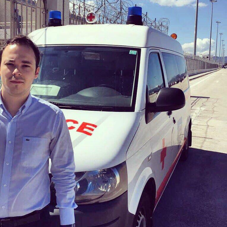 Τρία ασθενοφόρα από Αυστρία για τη Δυτική Ελλάδα