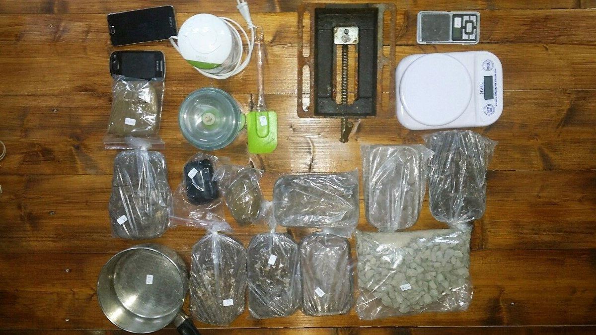 Εξαρθρώθηκε εγκληματική οργάνωση με εργαστήριο επεξεργασίας ηρωίνης στην Αιτωλοακαρνανία