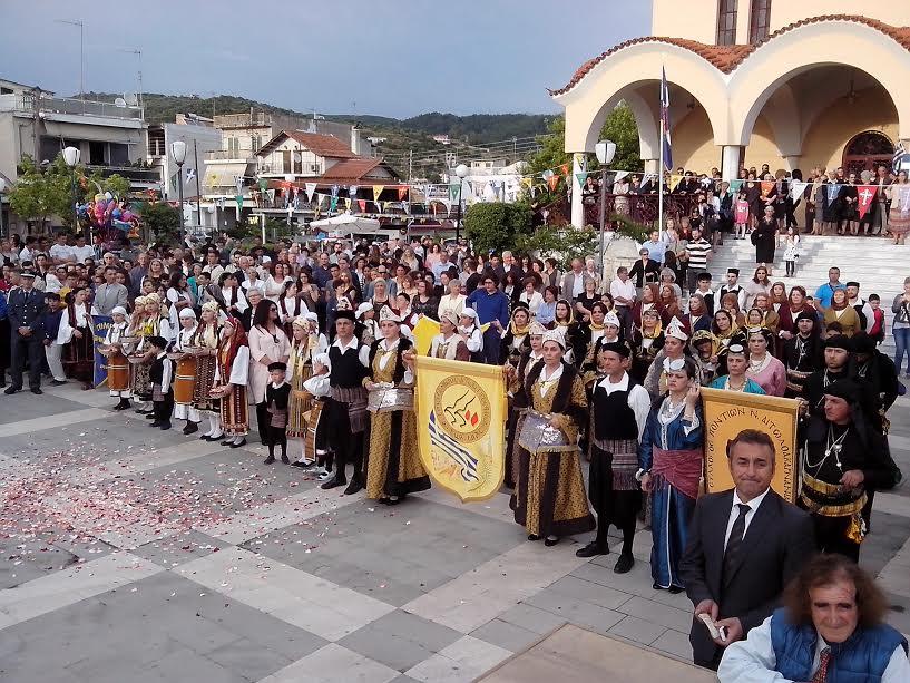 Γιόρτασε με κάθε λαμπρότητα ο Άγιος Κωνσταντίνος Αγρινίου