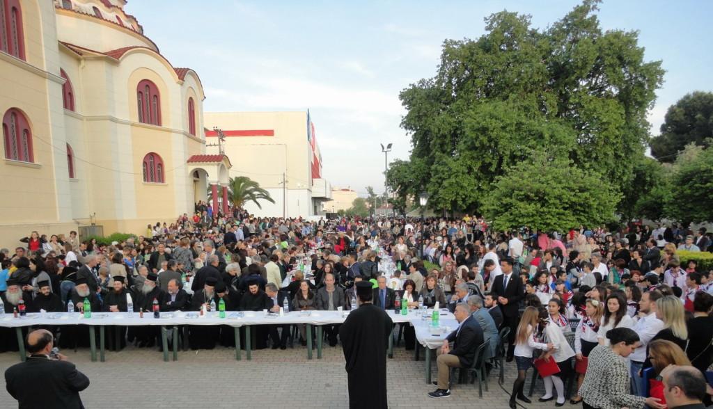 Εκδήλωση στον Ι.Ν. Αγίου Δημητρίου Αγρινίου