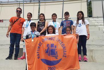 Επιτυχίες στα Τσίτεια για τον Ναυτικό Όμιλο Τριχωνίδας
