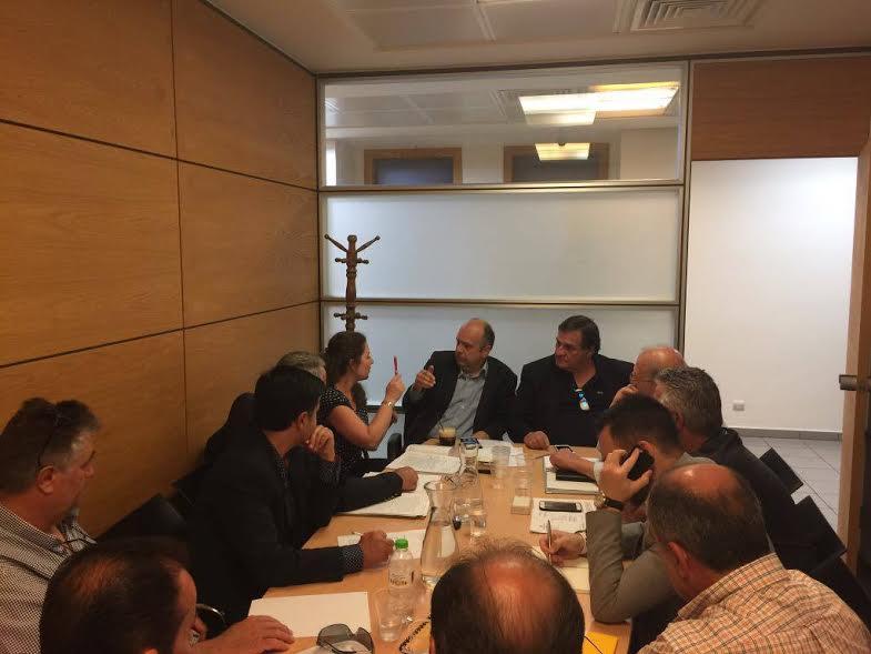 Συνάντηση στο υπουργείο Υποδομών για τα ζητήματα των ιδιοκτητών ταξί της Αιτωλοακαρνανίας