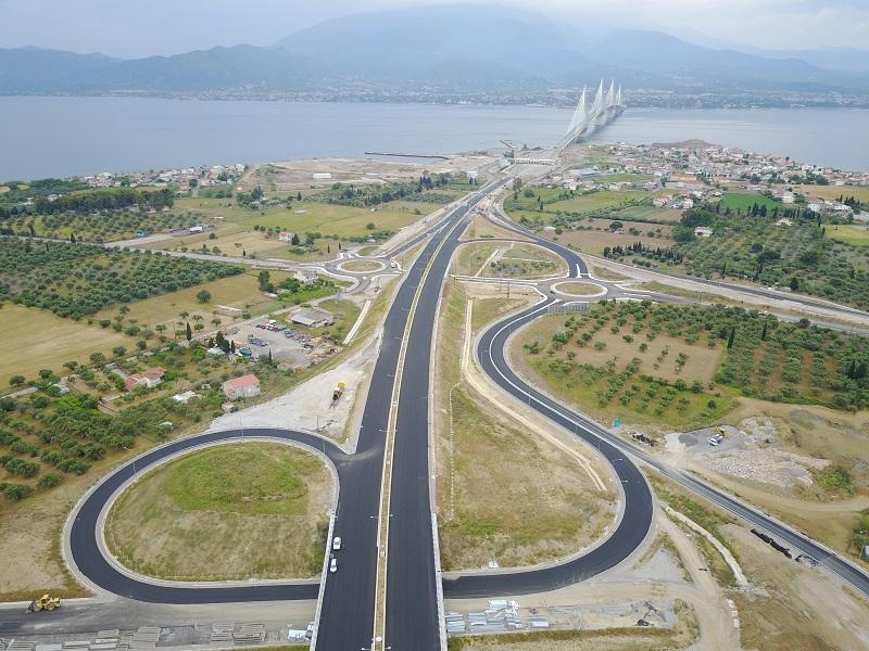 Υπουργείο Υποδομών: Αντίρριο -Αμφιλοχία σε 50 λεπτά