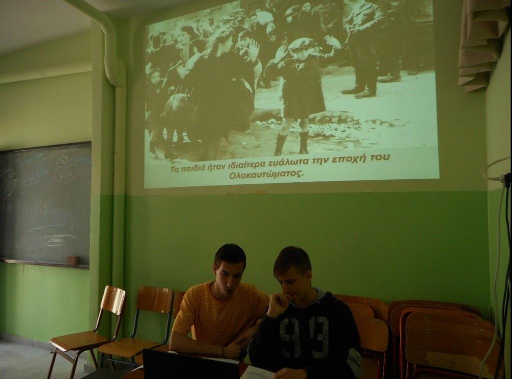 Μαθητές του 6ου Λυκείου Αγρινίου διακρίθηκαν σε διαγωνισμό δημιουργίας βίντεο με θέμα «το Παιδί θύμα του Ολοκαυτώματος»