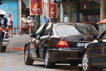 Έκρηξη στο αυτοκίνητο που επέβαινε ο Λουκάς Παπαδήμος