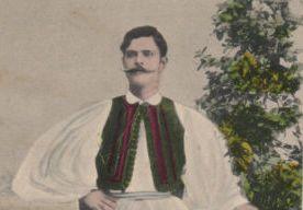 Χαρακτηριστικός τύπος Ακαρνάνα Eύζωνα στις αρχές του 20ου αιώνα