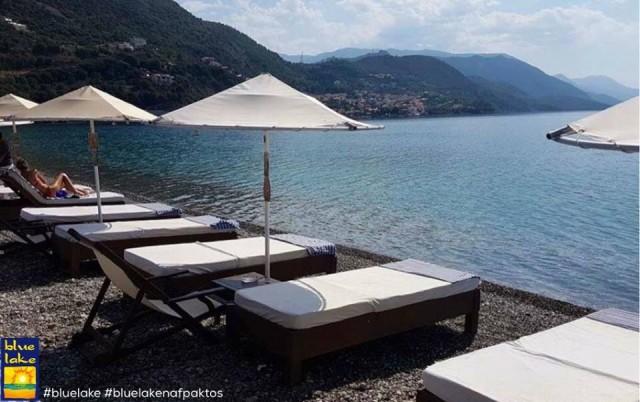 Blue Lake… o απόλυτος καλοκαιρινός προορισμός στην Ναύπακτο!