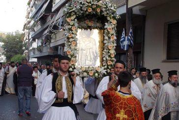 Κυκλοφοριακές ρυθμίσεις στο Αγρίνιο για τη λιτανεία της εικόνας του Αγίου Χριστοφόρου