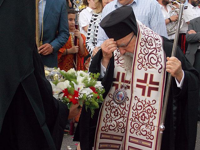Στο Αγρίνιο η Ιερά Κάρα της Αγίας Παρασκευής