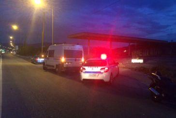 Αυτοκίνητο παρέσυρε πεζή σε παράδρομο της Εθνικής Οδού στο Αγρίνιο