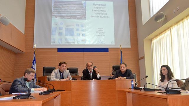 Απ. Κατσιφάρας: Κλειδί για το Πρόγραμμα Δημοσίων Επενδύσεων, η έγκαιρη ολοκλήρωση έργων
