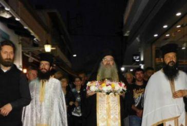 Λαμπρή υποδοχή της Αγίας Παρασκευής στο Αιτωλικό