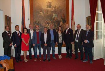 Επίσκεψη στο Μεσολόγγι του προεδρείου της Παγκόσμιας Οργάνωσης Παιδικών Αγώνων