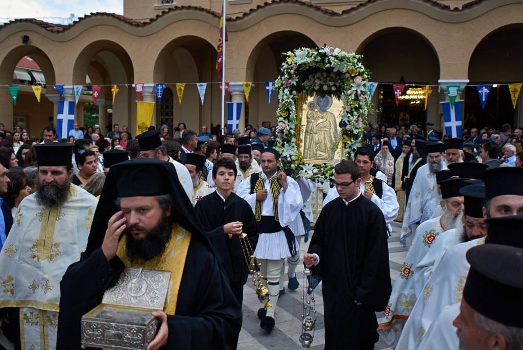 Tο πρόγραμμα του εορτασμού του Πολιούχου του Αγρινίου  Αγίου Χριστοφόρου