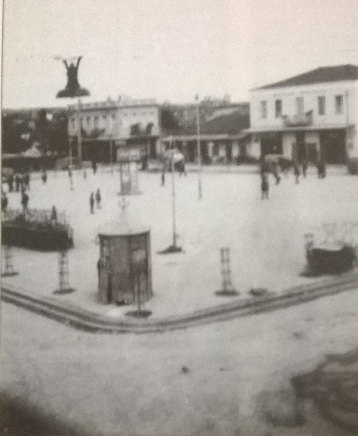 Άποψη της παλιάς Πλατείας Μπέλλου
