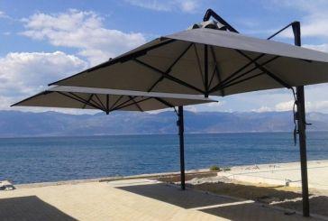 Λιμενικό Ταμείο Ναυπακτίας: «Οι ομπρέλες πρέπει να αφαιρούνται μετά το καλοκαίρι»