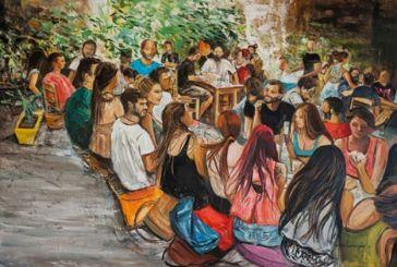 Έκθεση ζωγραφικής της Μαρίνας Κουτσοσπύρου στο Αγρίνιο