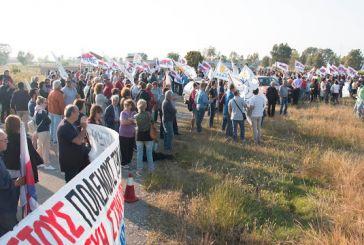 Η πορεία Ειρήνης στη βάση του Ακτίου (φωτο – video)