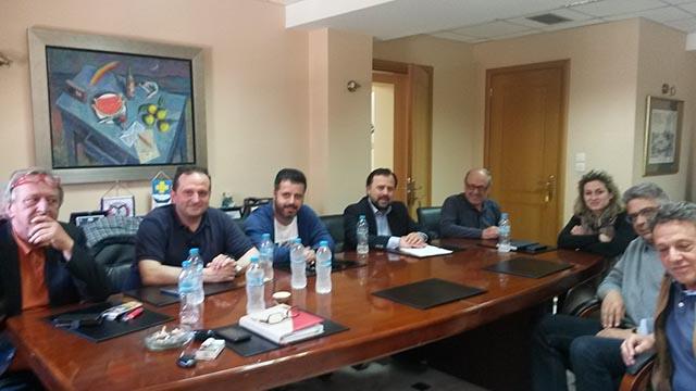 Σύσκεψη του τοπικού ΤΕΕ με τη δημοτική Αρχή Ναυπακτίας