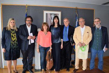 Συναντήθηκαν με Κουντουρά για θέματα του Νομού οι εκπρόσωποι του Συλλόγου Αιτωλοακαρνάνων Δημοσιογράφων