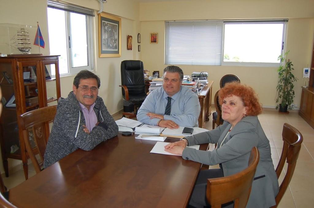 Πελετίδης-Καραπάνος συζήτησαν για τα διόδια στη Γέφυρα και την ανεργία