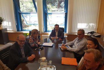 Σύσκεψη στο Υπουργείο Υποδομών για τα κατολισθητικά φαινόμενα σε Κλεπά και Περίστα