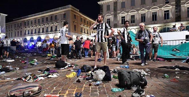 Τορίνο: Τουλάχιστον 1.400 τραυματίες οπαδοί της Γιουβέντους στο ποδοπάτημα